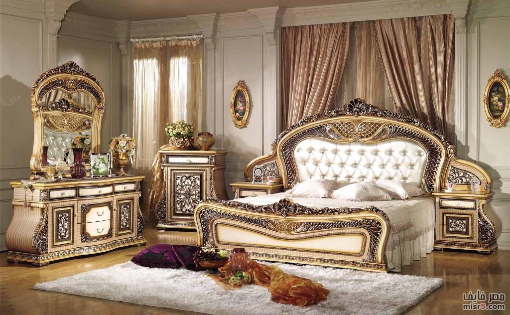 صور غرف نوم ستيل و كلاسيك بمصنع و معرض الشناوى للأثاث المصرى و